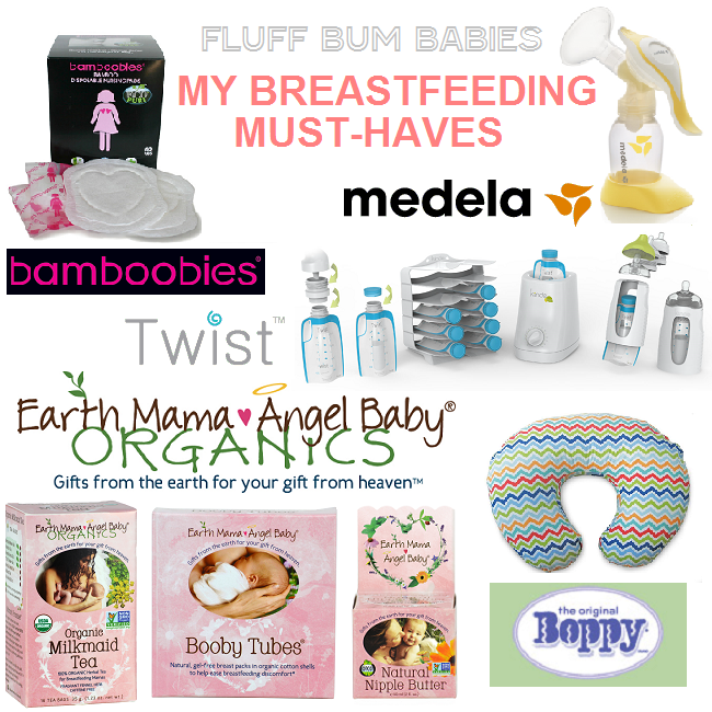 MY BREASTFEEDING MUSTHAVES