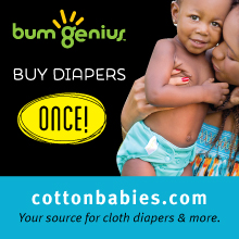 Cotton Babies side bar